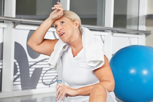 Sweating can be good for your skin